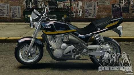 Kawasaki Zephyr для GTA 4 вид слева