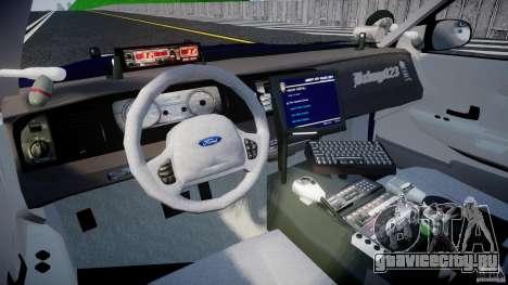 Ford Crown Victoria Homeland Security [ELS] для GTA 4 вид справа