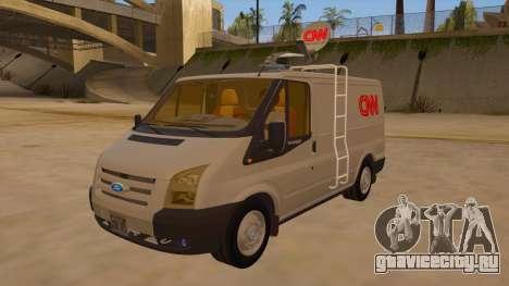 Ford Transit CNN для GTA San Andreas