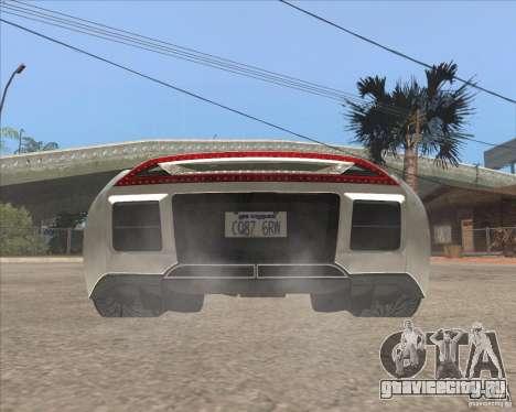 Saleen S5S Raptor для GTA San Andreas вид сзади слева