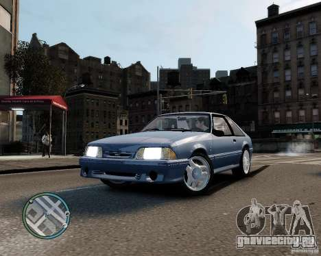 Ford Mustang SVT Cobra R 1993 для GTA 4