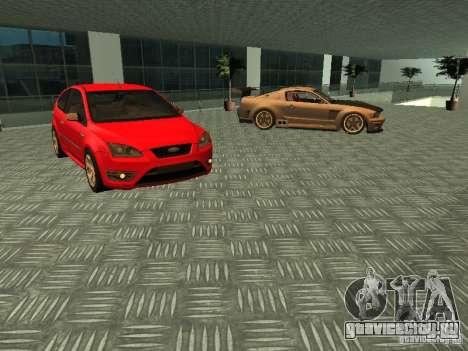 Автосалон Ford для GTA San Andreas пятый скриншот
