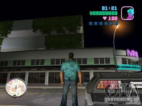 Delorean DMC-12 для GTA Vice City вид справа