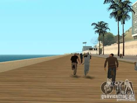 Трусливые копы для GTA San Andreas