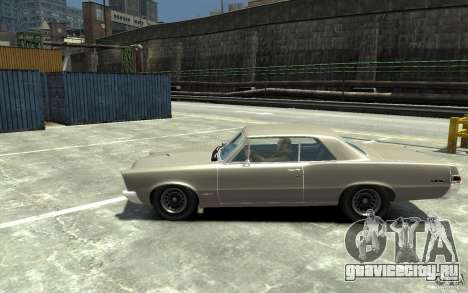 Pontiac GTO v1.1 для GTA 4 вид слева
