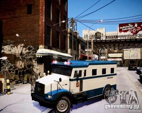 Russian Police Stockade для GTA 4
