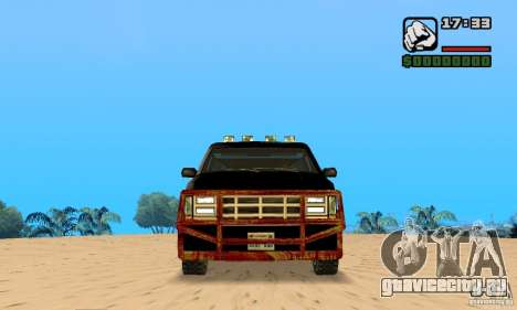 Blood Burrito для GTA San Andreas вид слева