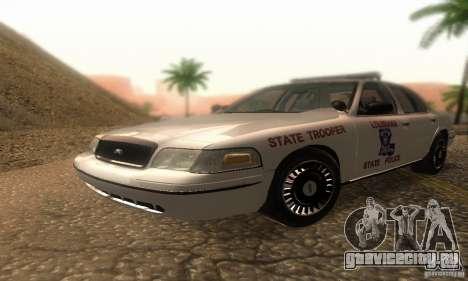 Ford Crown Victoria Louisiana Police для GTA San Andreas
