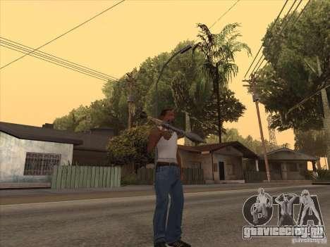 Новый Пак Отечественного Оружия для GTA San Andreas восьмой скриншот