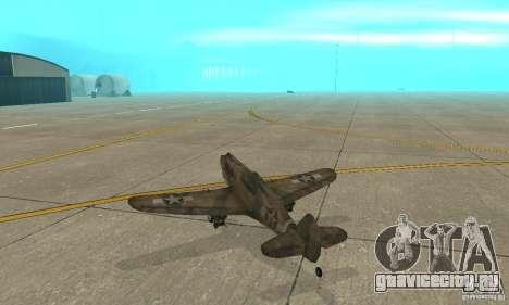 P-35 для GTA San Andreas вид справа