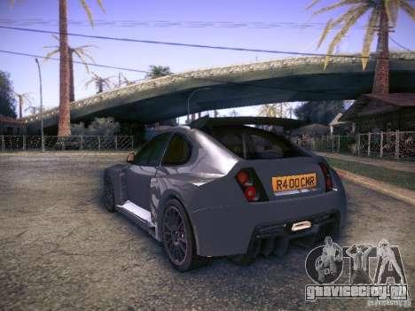 Colin McRae R4 для GTA San Andreas вид слева