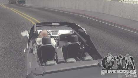 Citroen DS3 Convertible для GTA San Andreas вид сзади слева
