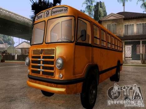 ЛиАЗ 158 для GTA San Andreas вид справа