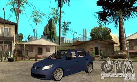 Volkswagen Gol Trend 1.6 для GTA San Andreas
