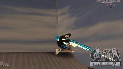 Sniper Rifle для GTA San Andreas четвёртый скриншот