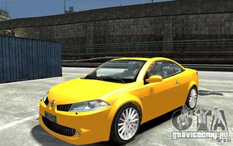 Renault Megane CC Kit RS для GTA 4