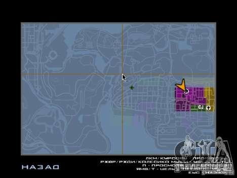 TBOGT HUD для GTA San Andreas четвёртый скриншот
