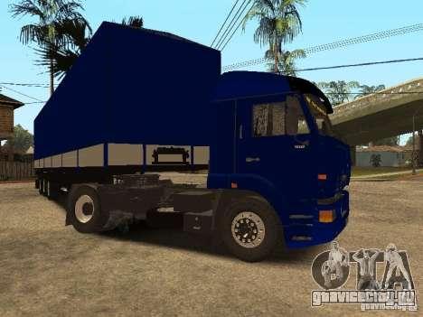 КамАЗ 5460 Дальнобойщики 2 для GTA San Andreas вид слева