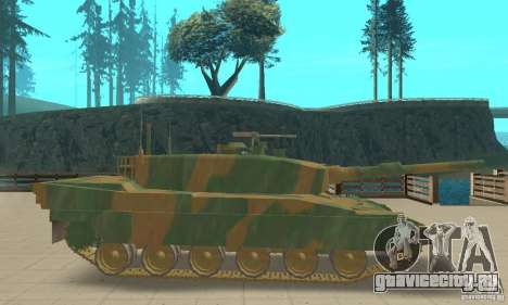 Танк JGSDF Type90 для GTA San Andreas вид сзади слева