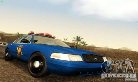 Ford Crown Victoria Michigan Police для GTA San Andreas