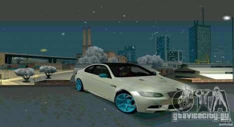 BMW E92 для GTA San Andreas