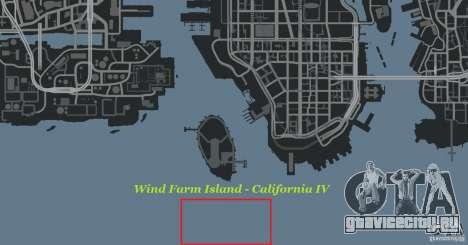 Wind Farm Island - California IV для GTA 4 шестой скриншот