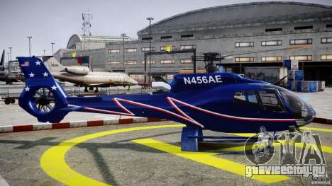 Eurocopter EC130B4 NYC HeliTours REAL для GTA 4 вид изнутри
