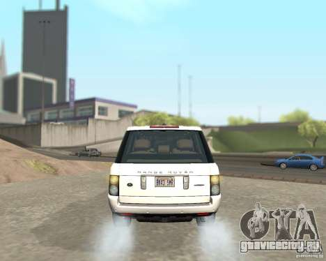 Land Rover Range Rover Supercharged 2008 для GTA San Andreas вид справа