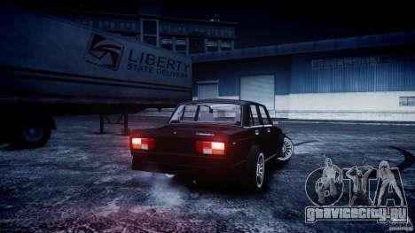 ВАЗ 2105 Drift для GTA 4 вид слева