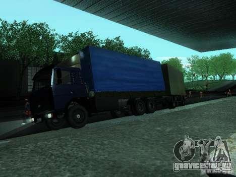 МАЗ 53366 для GTA San Andreas вид слева