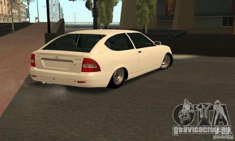 Lada Priora Coupe для GTA San Andreas вид слева