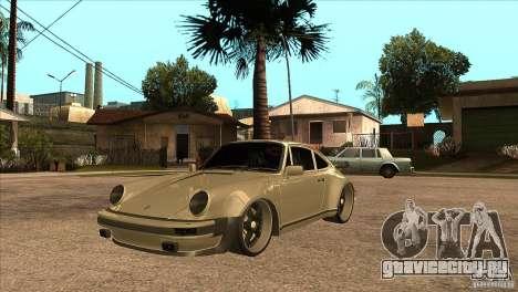 Porsche 911 Turbo 1982 для GTA San Andreas