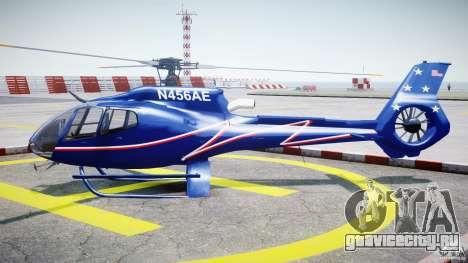 Eurocopter EC130B4 NYC HeliTours REAL для GTA 4 вид слева