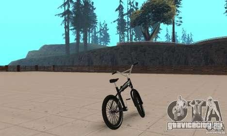 Puma MT Bike для GTA San Andreas вид слева