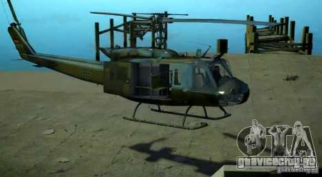 Bell UH-1D German Bundeswehr для GTA 4