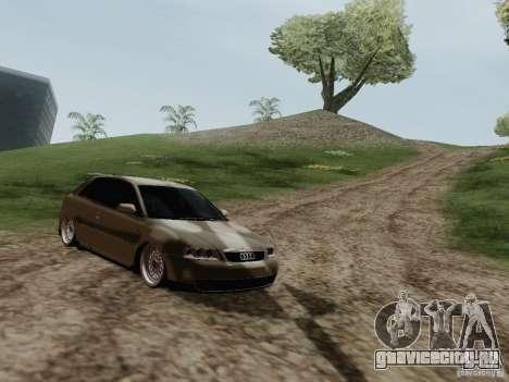 Audi A3 для GTA San Andreas вид сзади слева
