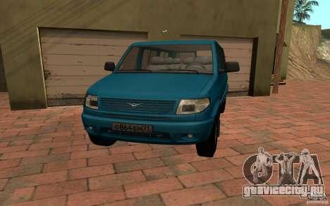 УАЗ 3165 Симба для GTA San Andreas