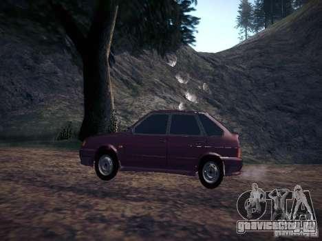 Ваз 2114 Пневмо для GTA San Andreas вид слева