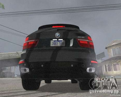 BMW X5 2009 Tune для GTA San Andreas вид сзади слева