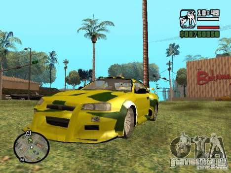 Nissan Skyline 2Fast 2Furious NEW для GTA San Andreas