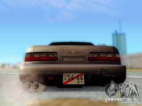 Nissan S13 - Touge для GTA San Andreas вид изнутри