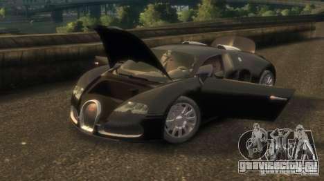 Bugatti Veyron 16.4 v3.1 для GTA 4 вид слева