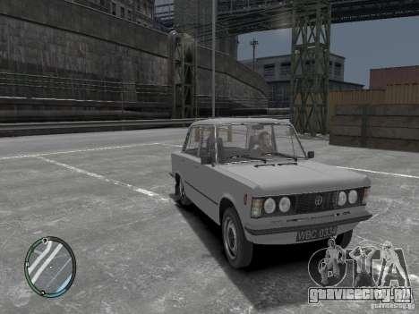 Fiat 125P FSO 1983 для GTA 4 вид справа