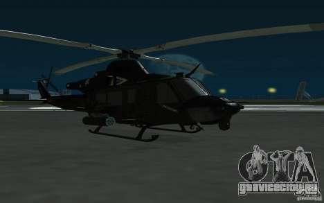 UH-1Y Venom для GTA San Andreas вид сзади слева