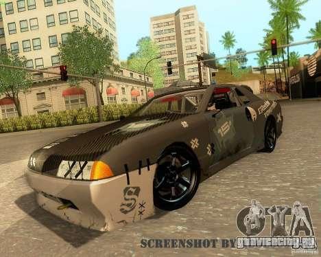 Elegy Drift Korch для GTA San Andreas вид снизу