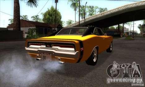Dodge Charger RT 1969 для GTA San Andreas вид справа