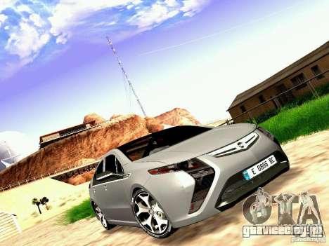 Opel Ampera для GTA San Andreas