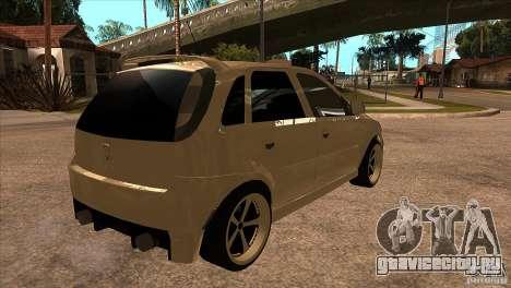 Opel Corsa Tuning Edition для GTA San Andreas вид справа