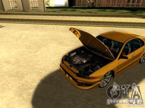 Mitsubishi Galant 2002 для GTA San Andreas вид изнутри