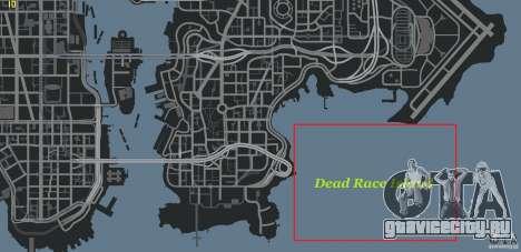 Dead Race Island для GTA 4 пятый скриншот